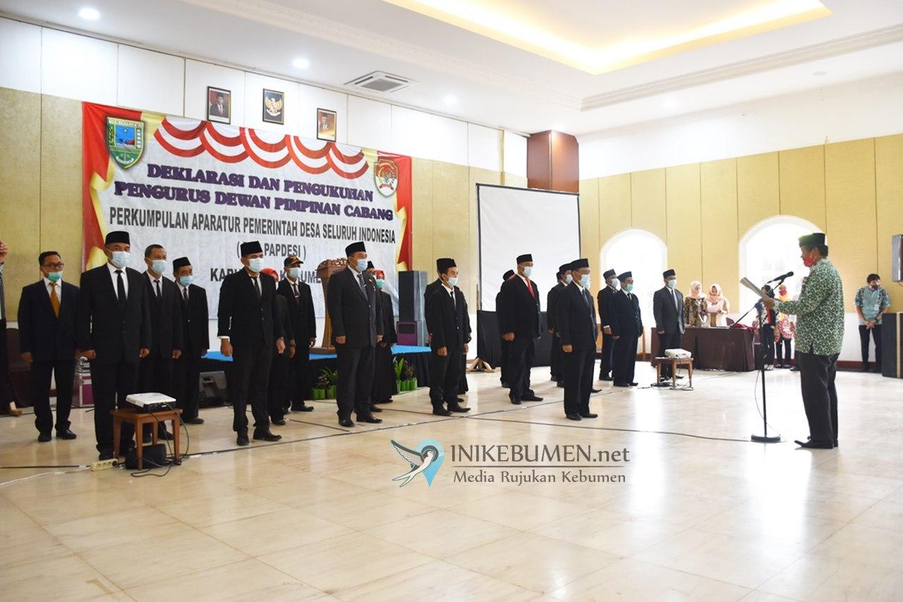 Selamat, Kades Wonoharjo jadi Ketua PAPDESI Kabupaten Kebumen