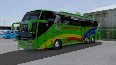 Gunung Harta Jetbus 3 SHD Pack Adudu cvt Diny