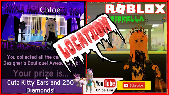 Chloe Tuber Roblox Royale High Halloween Event Gameplay