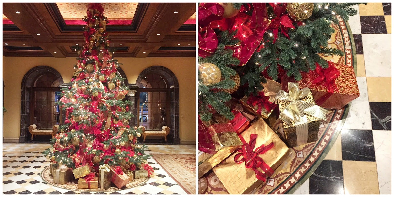 best christmas trees in San Diego, elegant Christmas Trees, Grand del mar Christmas Tree
