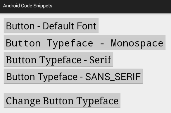 java how to change font