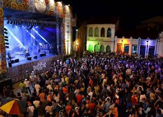 Feriado e festival em Lençóis