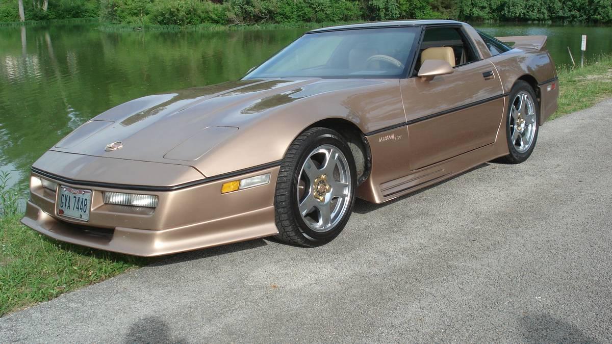 Daily Turismo: Tommy Morrison Special: 1984 Chevrolet Corvette C4