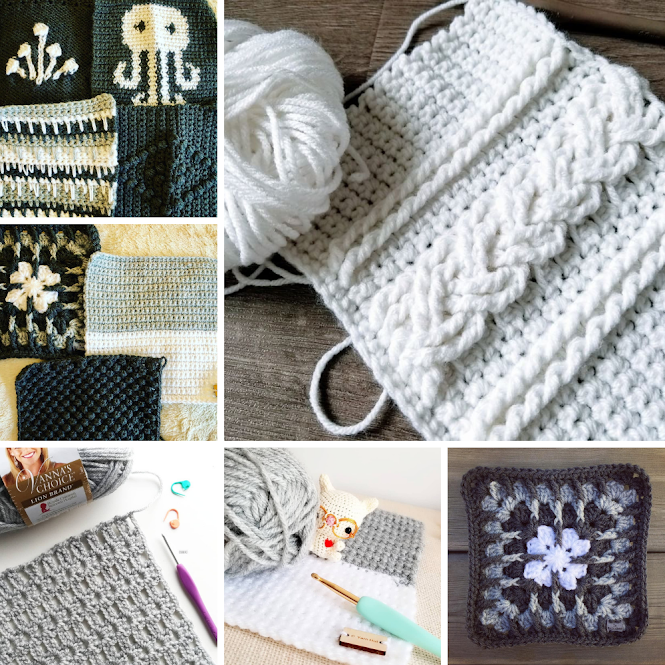 Odd Squad Square Blanket Crochet Project