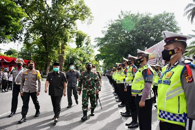 Opreasi Lilin Lodaya 2020, Wagub Jabar Himbau  Petugas Keamanan Lakukan Tindakan Tegas dan Humanis