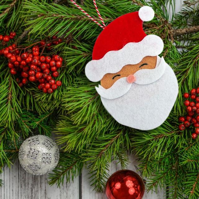 Come fare Decorazioni in feltro per l'albero di Natale: Babbo Natale ed Elfo – Sizzix Big Shot