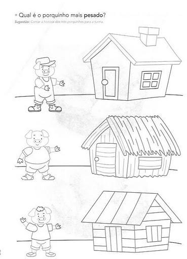 Os Tres Porquinhos Atividades Contos De Fadas Historias Infantis