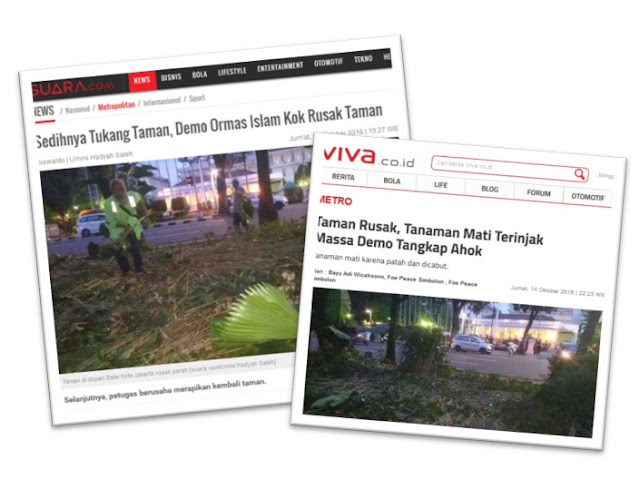 FPI Bongkar Cara Media Memitnah Demo Umat Islam