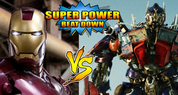 Iron Man Vs Optimus Prime