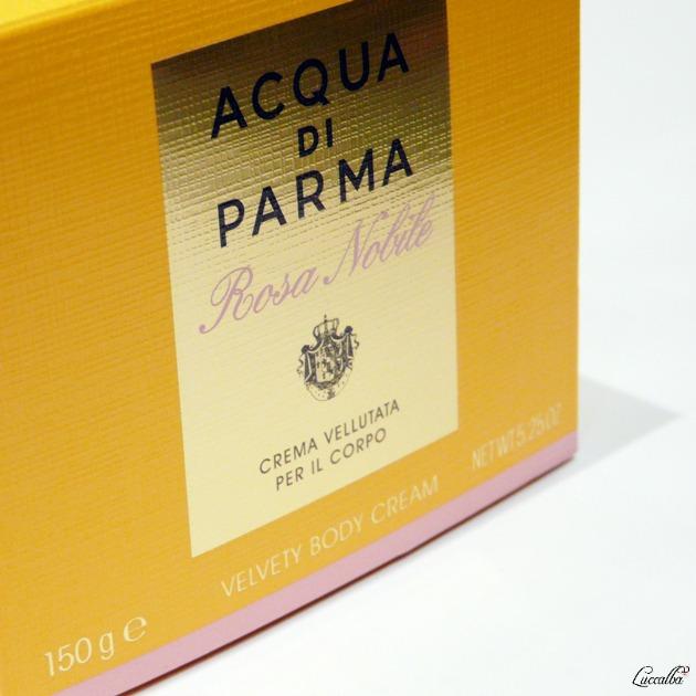 Rosa Nobile Acqua di Parma, crema corporal