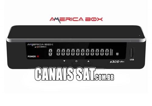 Americabox S305 + Plus Atualização V1.33 - 08/06/2021