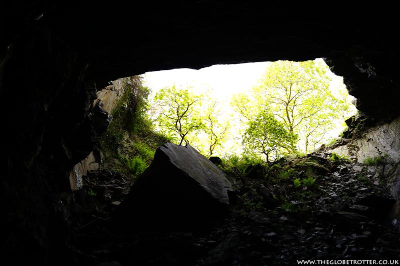 Llanfair Slate Caverns in Wales