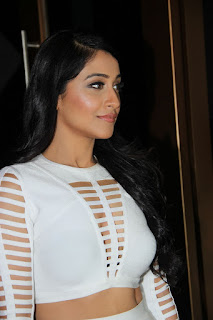 Regina Casandra looks stunning in a White Skirt and Top at International Phenomenon Sensation Press Meet