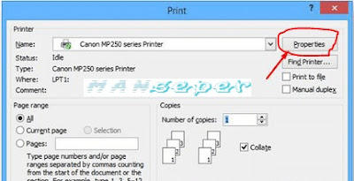 cara print full kertas f4 di photoshop