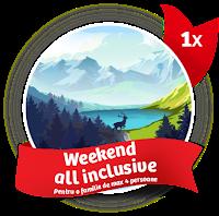 Castiga un weekend all inclusive la munte, cupoane pentru cumparaturi si biciclete Mountain Bike