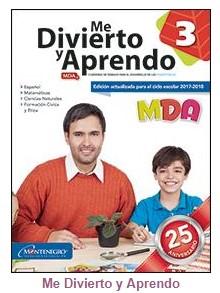 Me Divierto y Aprendo 3° grado Bloque 4 - Material Educativo - MDA 3