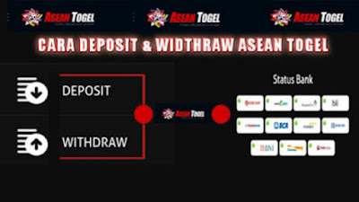 Cara deposit dan withdraw di situs asean togel