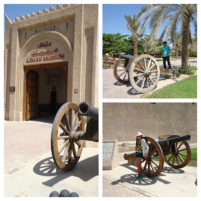 Canons at Ajman Museum