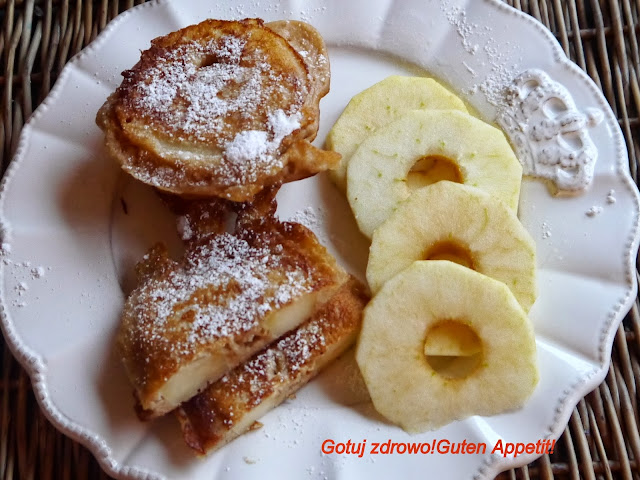 """Racuchy z jabłkami czyli """"jabłka w orkiszowych szlafroczkach"""" - Czytaj więcej »"""