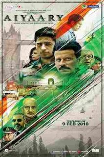 Download Aiyaary (2018) HEVC 200MB Bollywood Hindi Pre-DVDRip Movies MKV