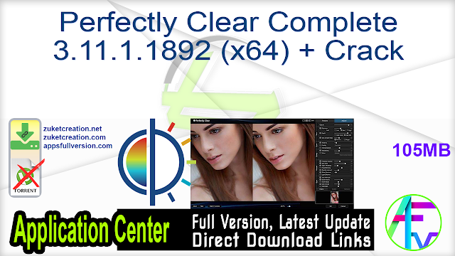 Perfectly Clear Complete 3.11.1.1892 (x64) + Crack
