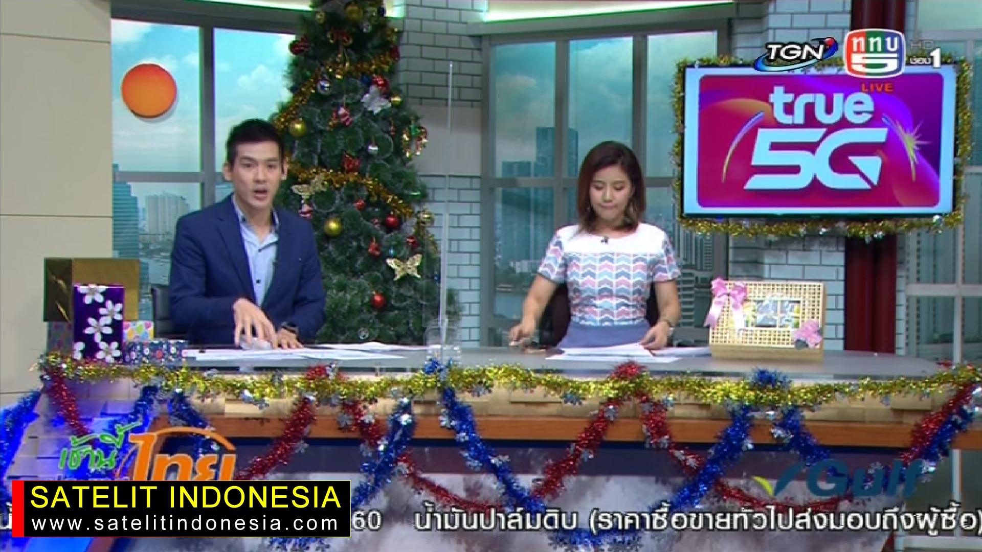Frekuensi siaran TGN di satelit Thaicom 6 Terbaru
