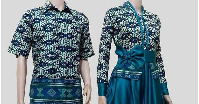 55 Desain Baju Batik Modern Terbaru