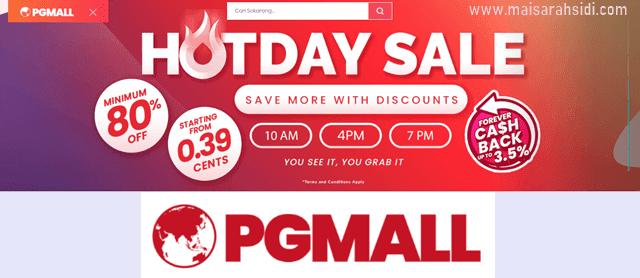 Kempen PG Mall Love You 3000, Ganjaran untuk Pelanggan