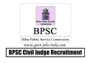 BPSC Civil Judge Recruitment 2020