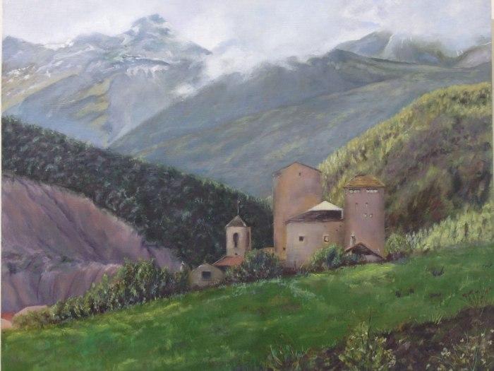 Испанский художник. Mercedes Garcia