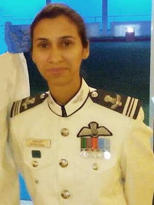 shaliza dhami Iaf first flight commander