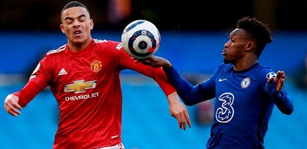 Chelsea Man-United Berbagi Angka