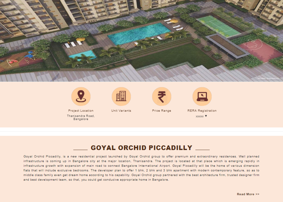 Orchid Piccadilly Bangalore by Goyal&Co