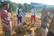 Peletakan Batu Pertama Gedung PAUD Dusun Padu Desa Beginjan