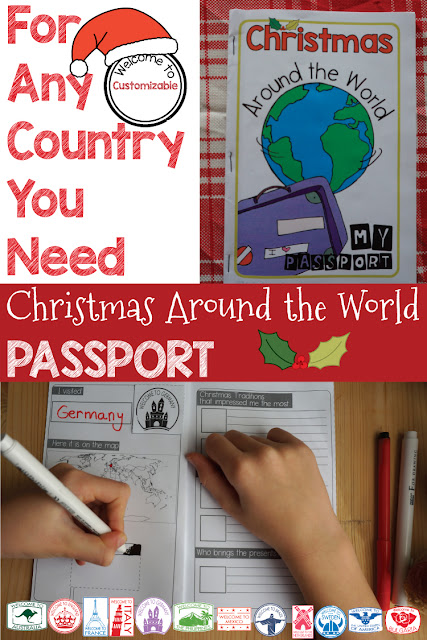 Christmas Around the World Passport