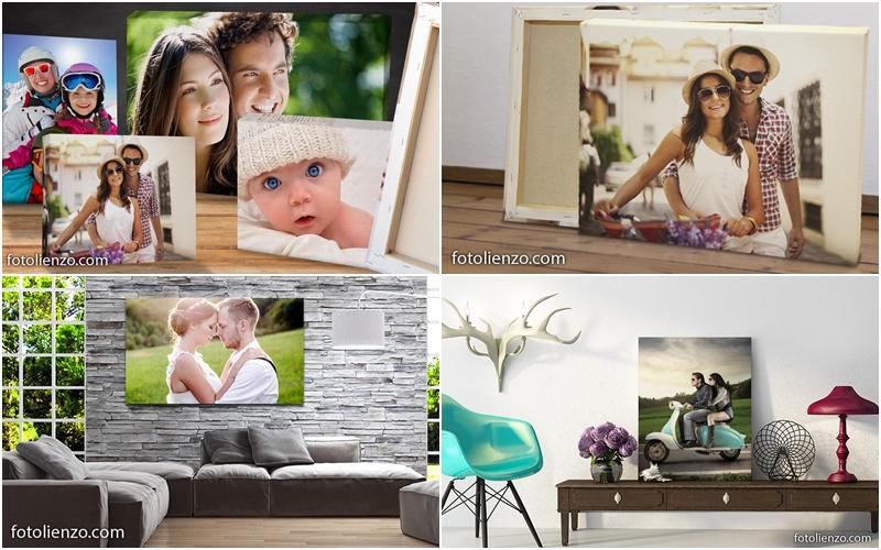 Ideas para decorar tus paredes con fotos y lienzos amor - Lienzos para decorar ...