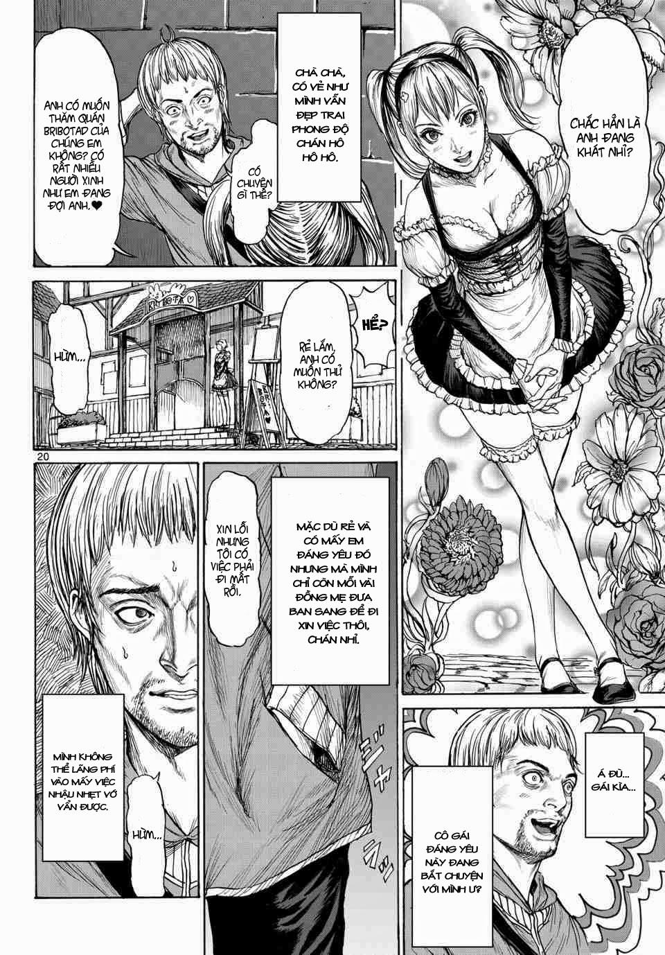 Monster X Monster chapter 1b trang 3