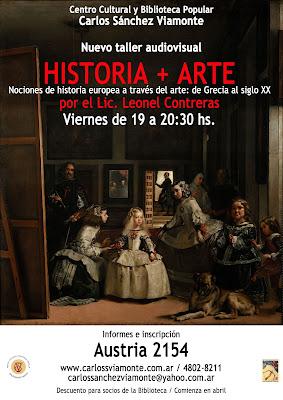 """Taller """"Historia + Arte"""""""