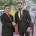 Abascal inicia su gira americana reuniéndose en Washington con el embajador de Venezuela