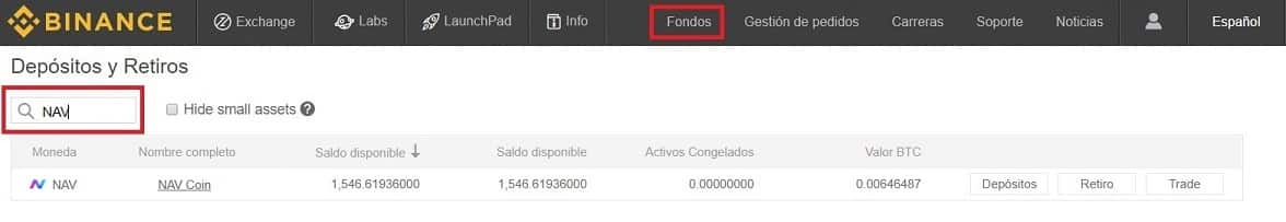 Tutorial Compra NAV Coin