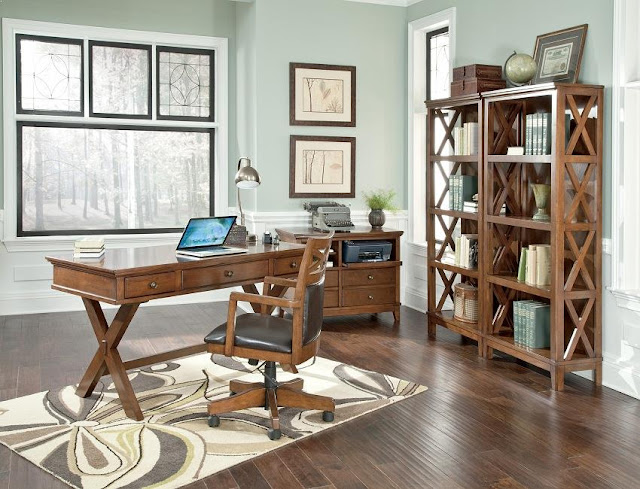 best wood home office desks made in the USA for sale online