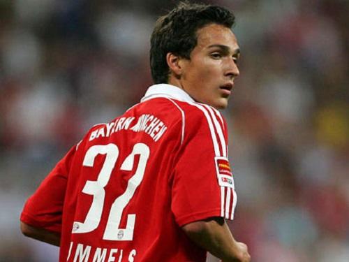 Hummels thời còn khoác áo câu lạc bộ Bayern