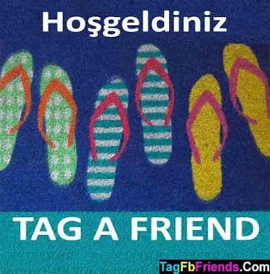 Welcome in Turkish language