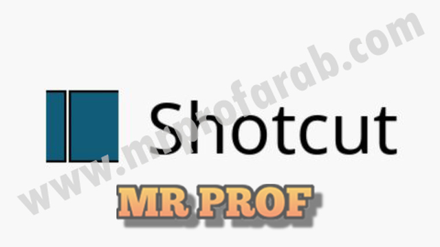 افضل برنامج مونتاج فيديو للكمبيوتر بالعربى مجانا برنامج shotcut اخر اصدار