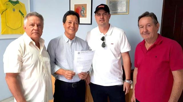Roncadorenses conquistam benefícios para o município junto ao Deputado Federal Luiz Nishimori