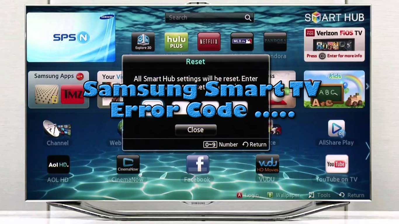 [FIX] Cara Memperbaiki Samsung Smart TV Failed to Download – Error Code 2003