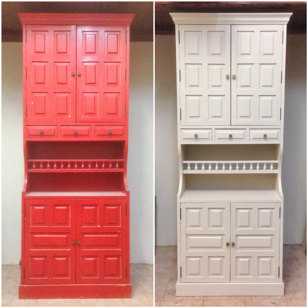 Antes y después - Muebles pintado - Studio Alis