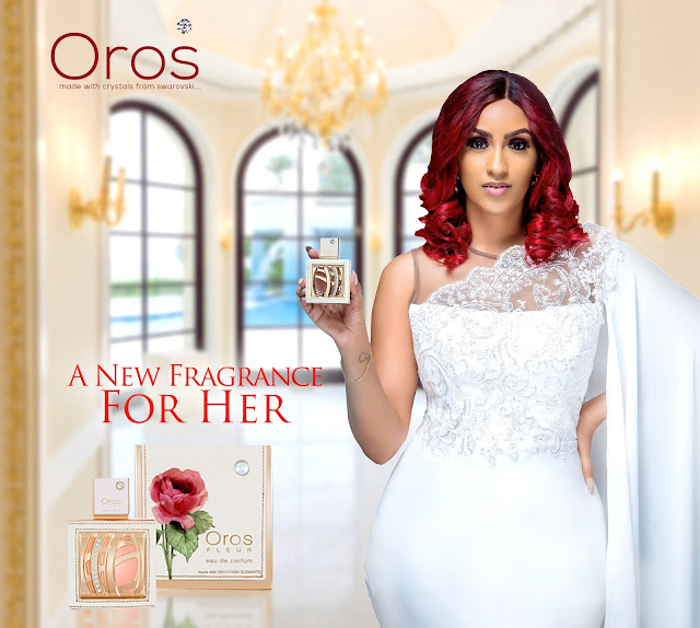 OROS! Juliet Ibrahim and Iceberg Slim for Oros Perfume