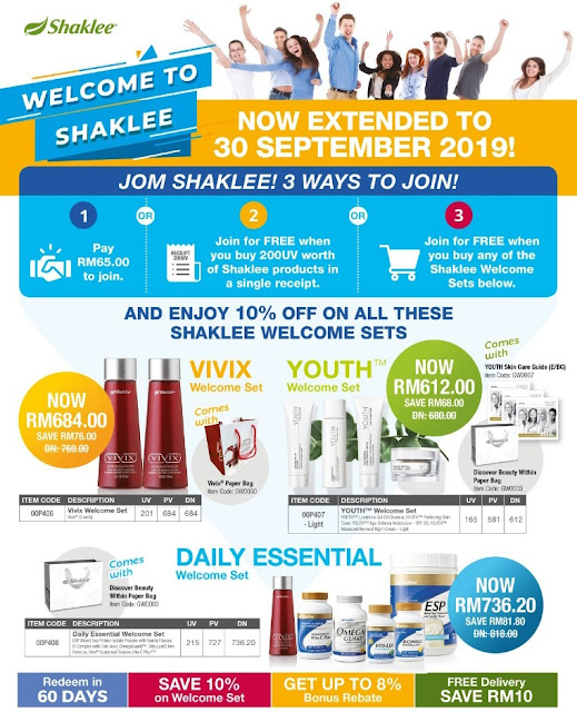 Promosi Jom Shaklee