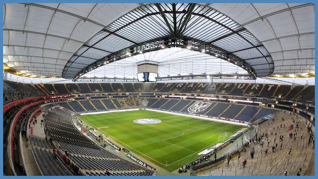 """Eintracht Frankfurt Stadion heißt weiter """" merzbank from Commerzbank arena innen"""